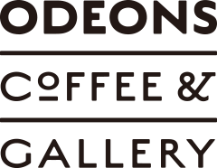 odeons coffee&galleryロゴ